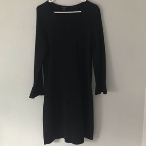 Ann Taylor Dress with Fluted Sleeves Size M